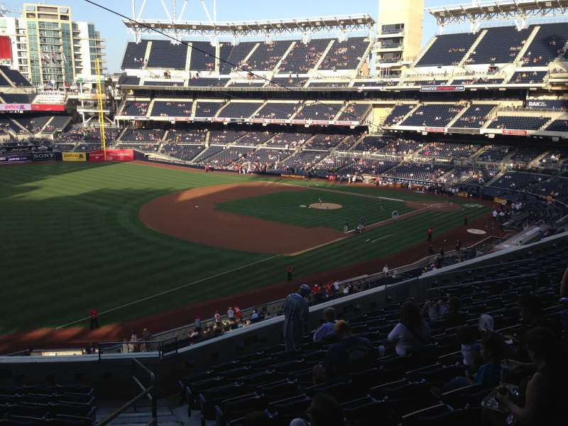 PETCO Park, section: 218, row: 11, seat: 20
