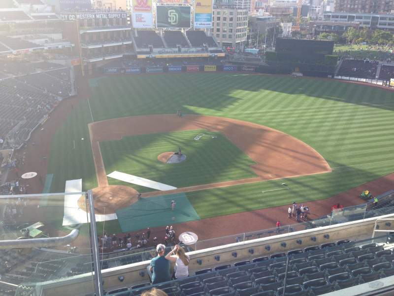 PETCO Park, section: 307, row: 9, seat: 2