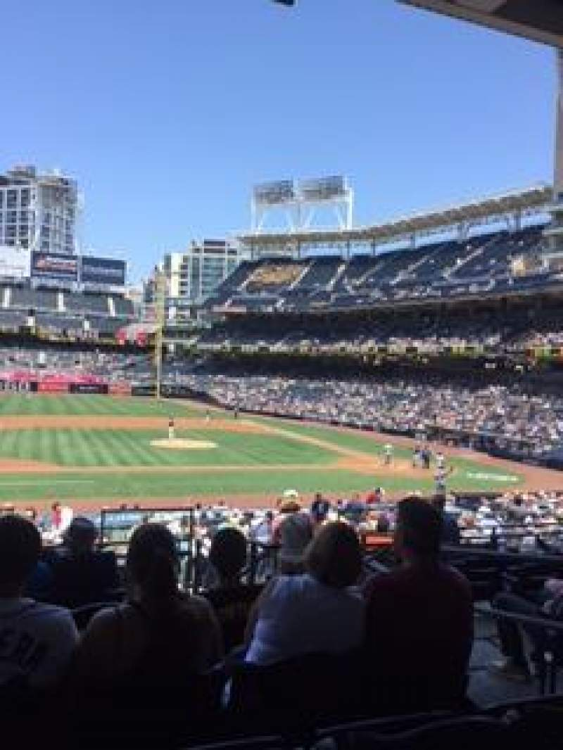 Petco Park, section: 110, row: 33, seat: 3
