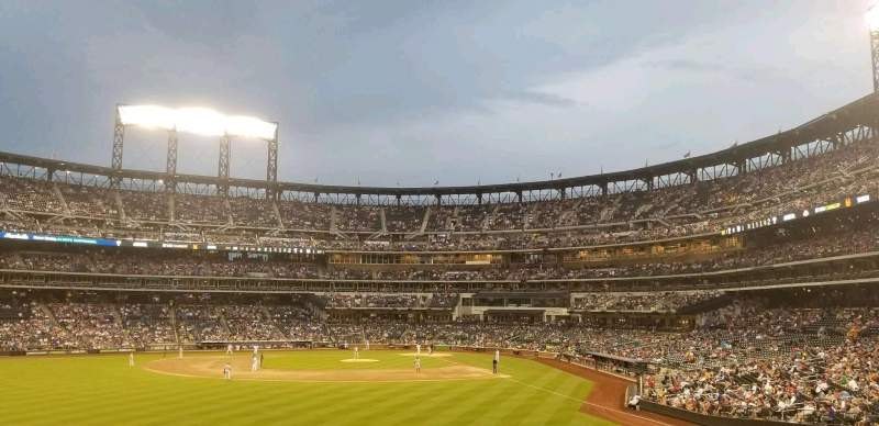 Seating view for Citi Field Section 135 Row 7 Seat 11