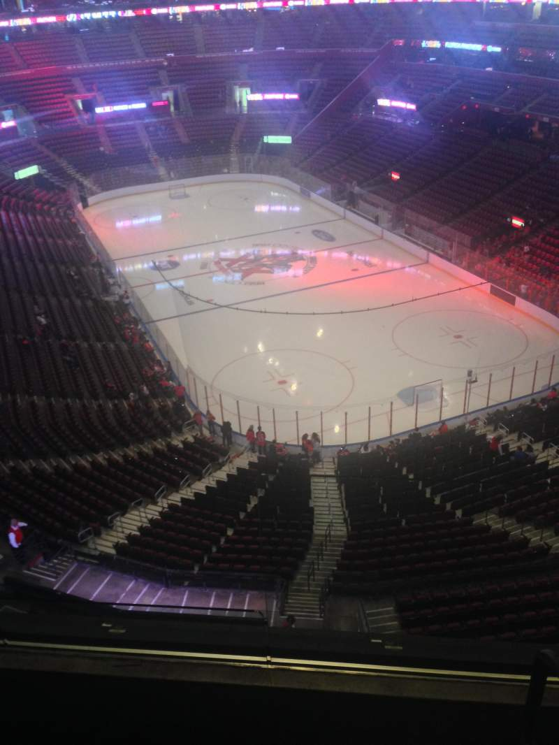 Seating view for BB&T Center Section 412 Row 2 Seat 1