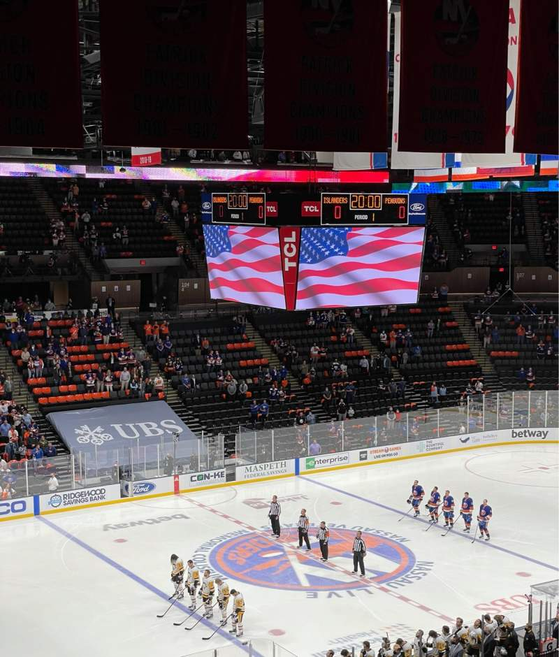 Seating view for Nassau Veterans Memorial Coliseum Section 226 Row 9 Seat 8