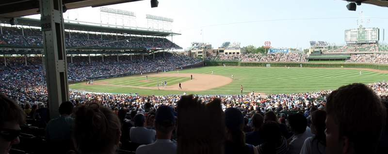Seating view for Wrigley Field Section 227 Row 11 Seat 10