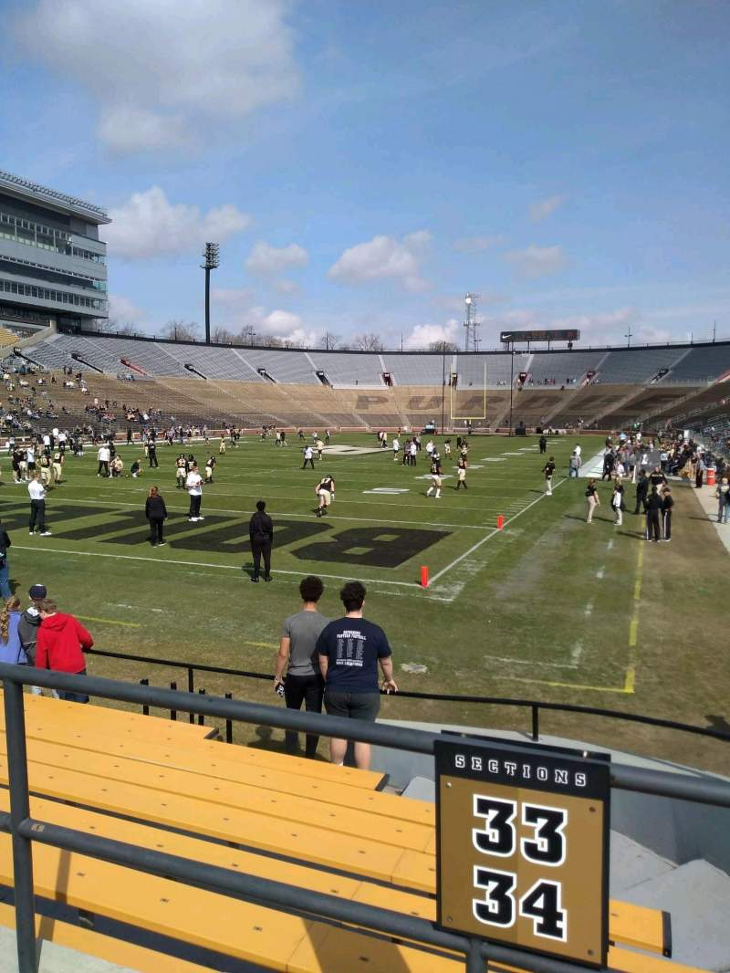 Seating view for Ross-Ade Stadium Section 33