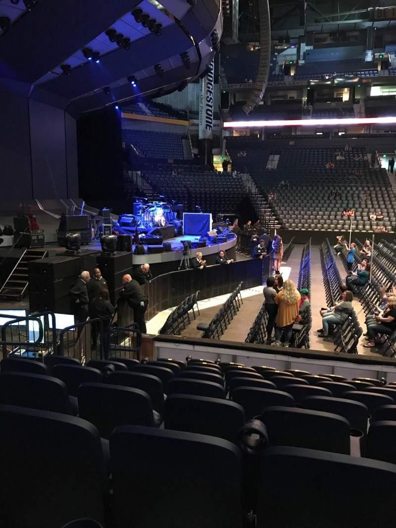 Bridgestone Arena Section 114 Row Jj Seat 14 Ed