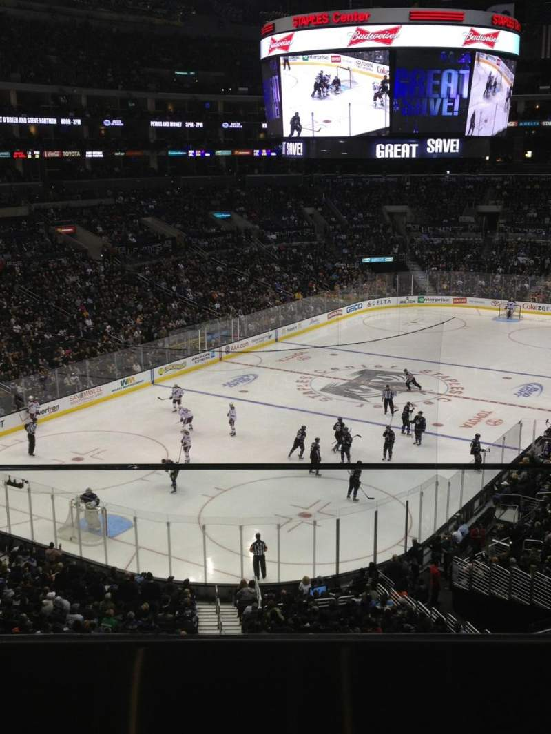 Staples Center Section Suite B25 Home Of Los Angeles