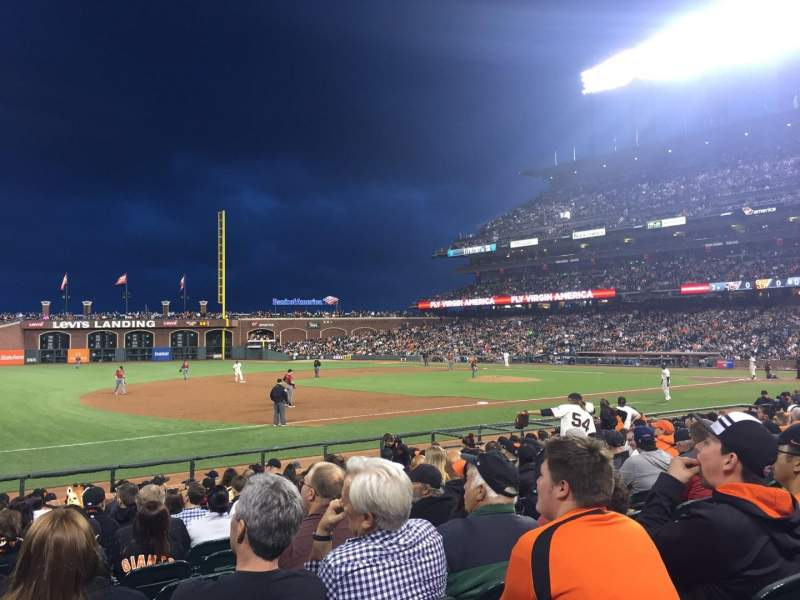 AT&T Park, section: 126, row: 14, seat: 13