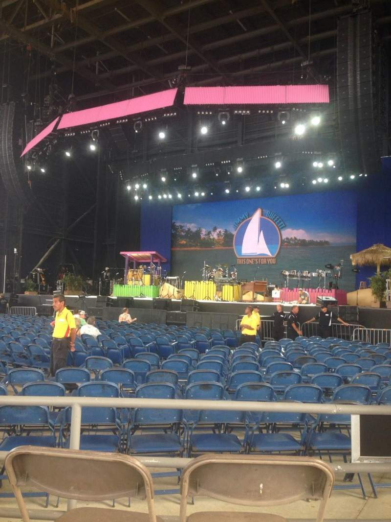 Seating view for MidFlorida Credit Union Amphitheatre Section 6 Row A Seat 15