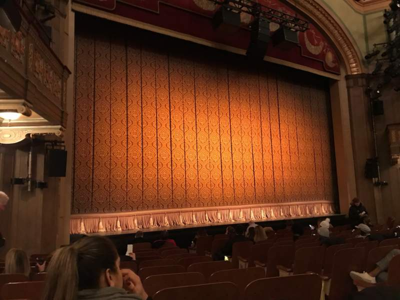 Seating view for Booth Theatre Section Orchestra L Row K Seat 5 And 7