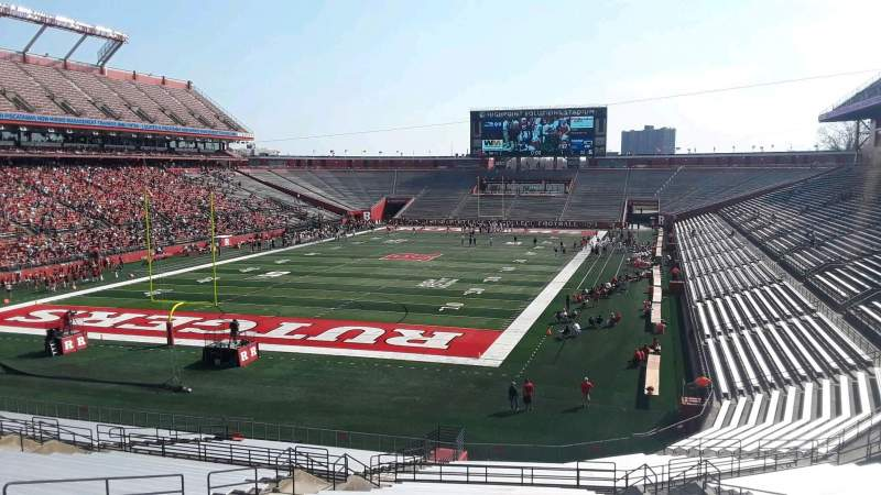 High Point Solutions Stadium, section: 113, row: 38, seat: 14