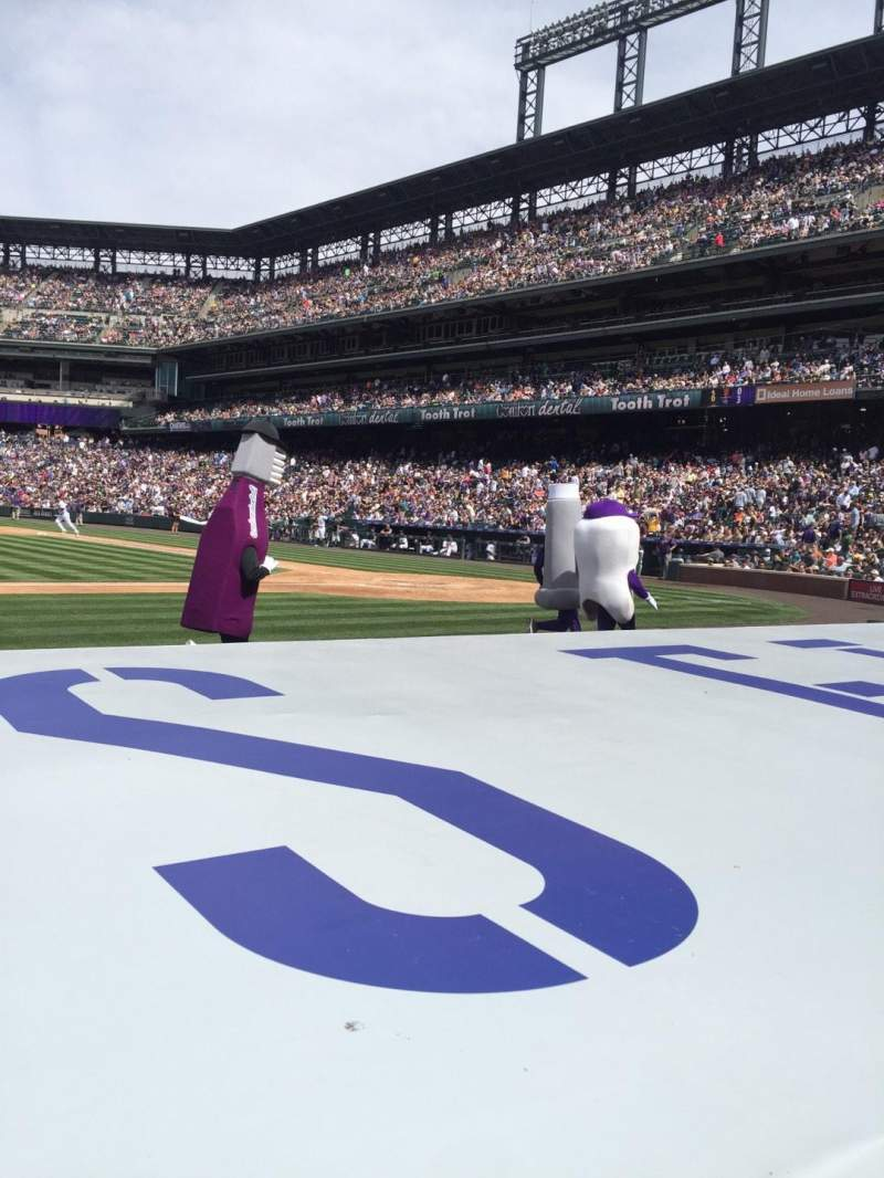 Seating view for Coors Field Section 137 Row 5 Seat 12