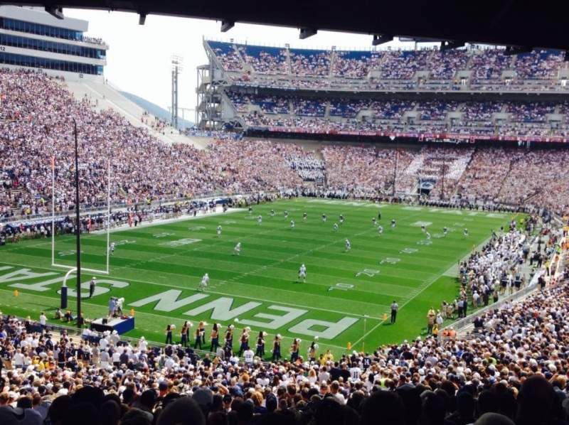 Seating view for Beaver Stadium Section NC Row 59 Seat 12
