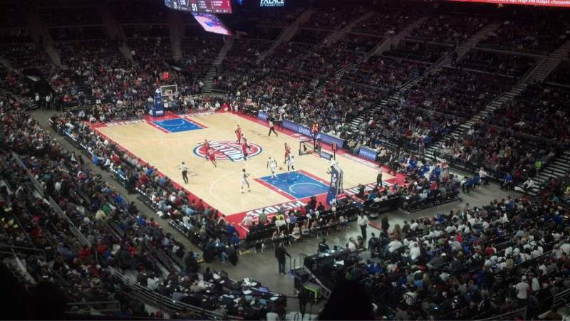 The Palace of Auburn Hills, section: 226, row: 10, seat: 2