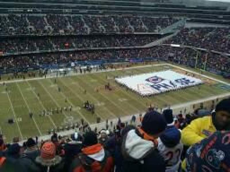 Seating view for Soldier Field Section 441 Row 16 Seat 17