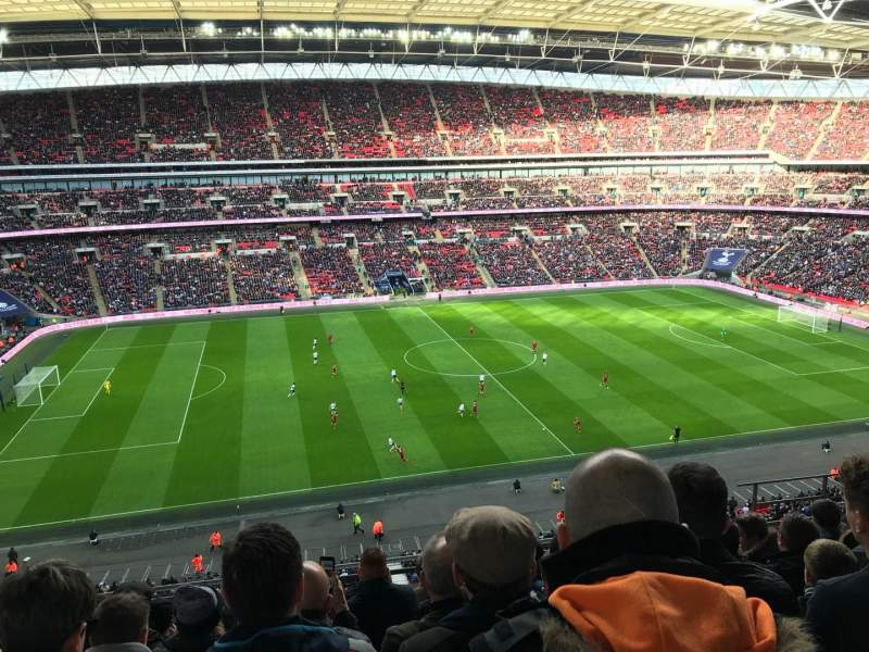 Wembley Stadium, section: 528, row: 8, seat: 55