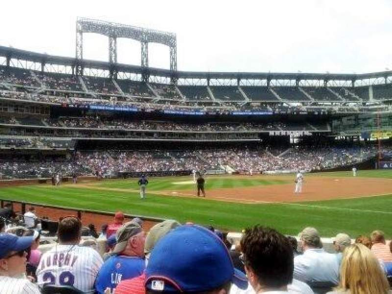 Citi Field, section: 110, row: 5, seat: 9