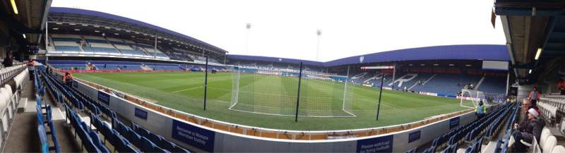 Seating view for Loftus Road Section School Lower Stand Block Z2