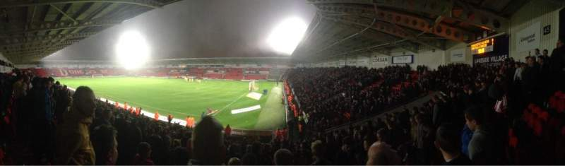 Seating view for Keepmoat Stadium Section North East Row T Seat 1056