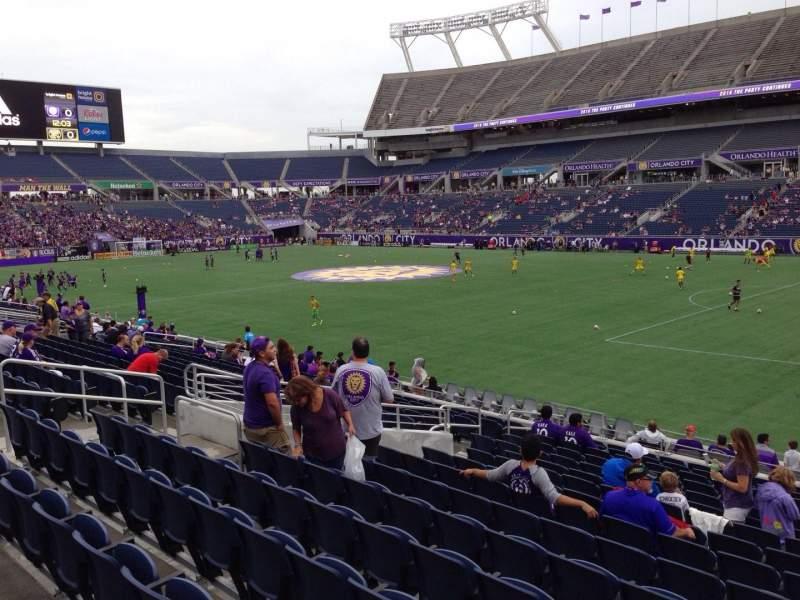 Camping World Stadium, section: 103, row: T, seat: 19