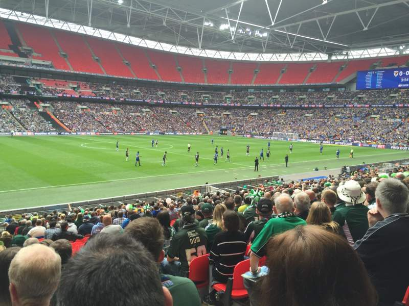 Wembley Stadium, section: 103, row: 25, seat: 29