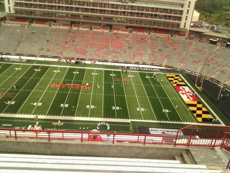 Maryland Stadium, section: 307, row: p, seat: 17