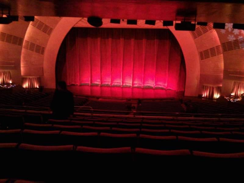 Radio City Music Hall, section 1st mezzanine 3, row k, seat