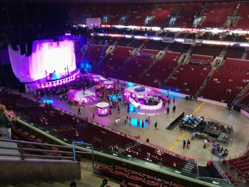 Wells Fargo Center Section 205 Row 8 Seat 8 Lady Gaga