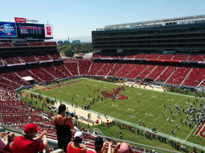 Levi's Stadium, section: 310, row: 5, seat: 20