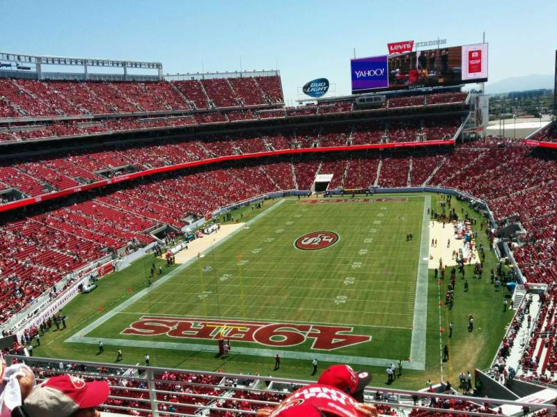 Levi's Stadium, section: 301, row: 4, seat: 36