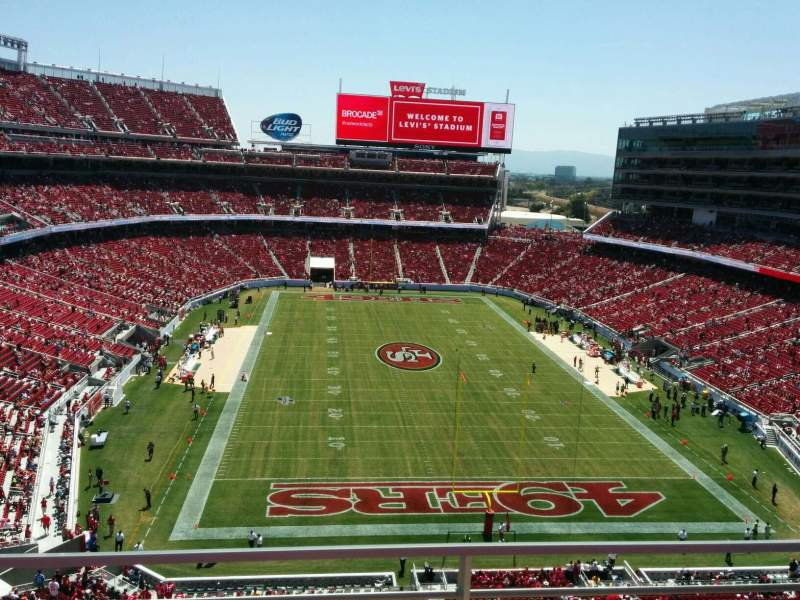 Levi's Stadium, section: 304, row: 2, seat: 13