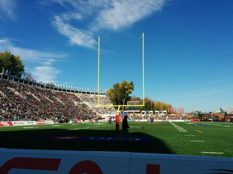 Seating view for Percival Molson Memorial Stadium