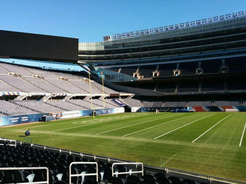 Soldier Field, section: 140, row: 10, seat: 8
