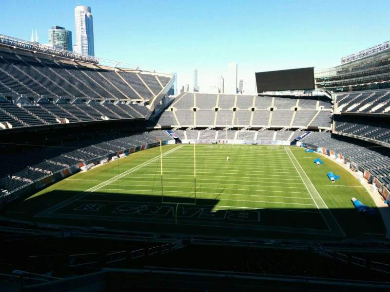 Seating view for Soldier Field Section 321 Row 9 Seat 10