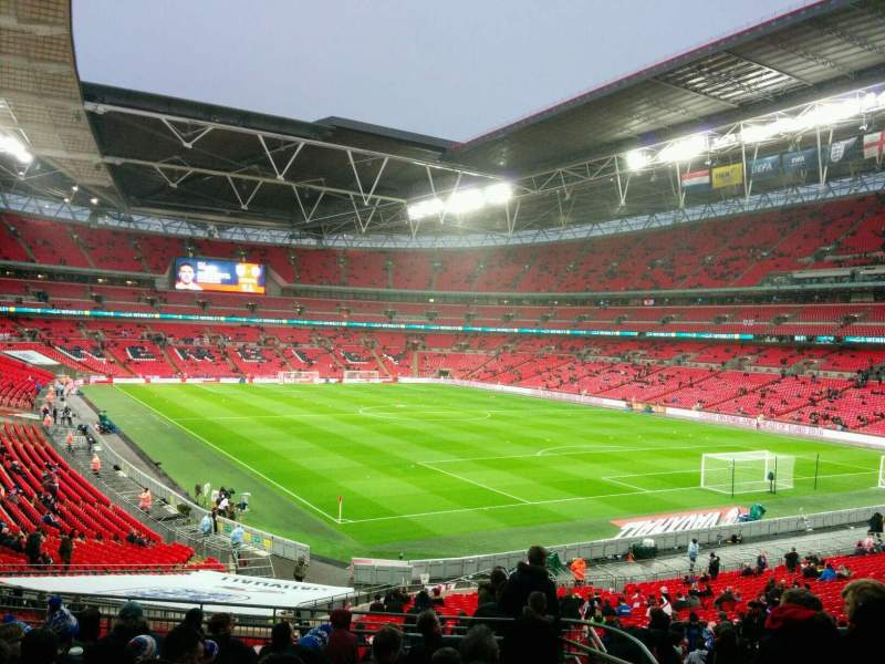 Wembley Stadium, section: 137, row: 41, seat: 109
