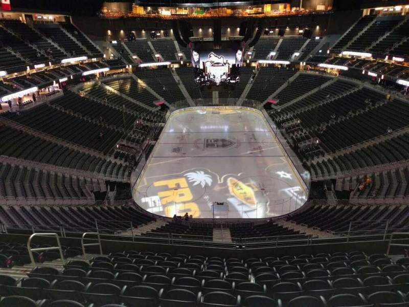 T Mobile Arena Section 214 Row K Seat 8 Los Angeles