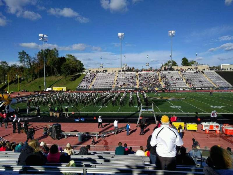 Seating view for Johnny Unitas Stadium Section 112 Row r Seat 4