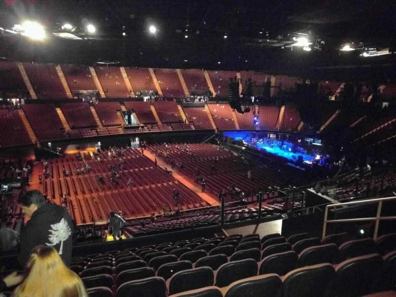 Seating view for The Forum Section 207 Row 11 Seat 7