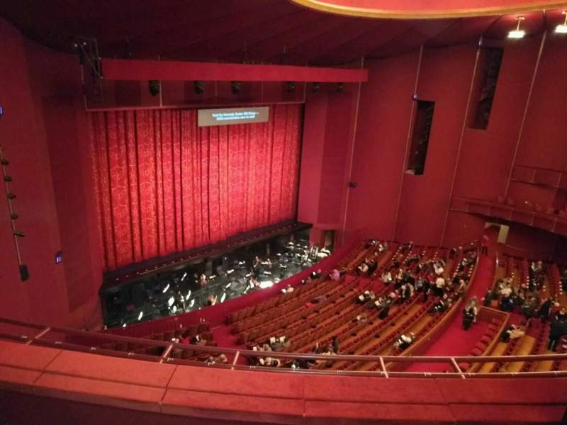 Seating view for The Kennedy Center Opera House Section 2nd Tier Row c Seat 9