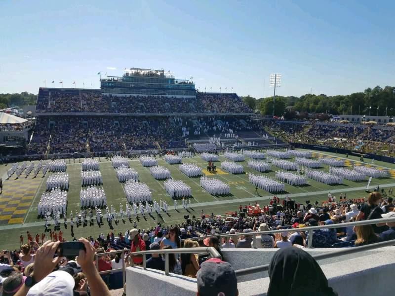 Navy-Marine Corps Memorial Stadium, section: 131, row: 17, seat: 11