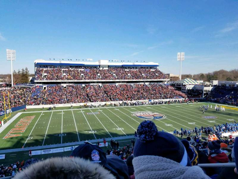Navy-Marine Corps Memorial Stadium, section: 107, row: 7, seat: 9