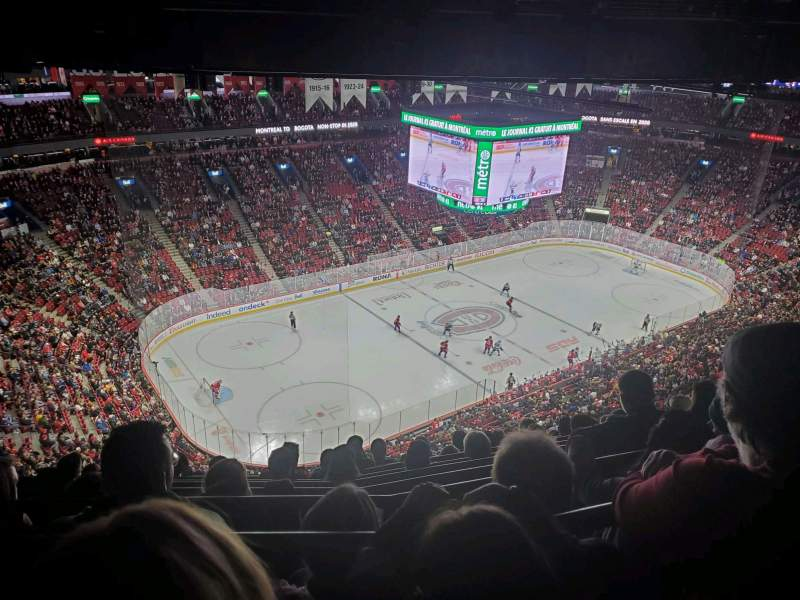 Seating view for Centre Bell Section 305 Row C Seat 8