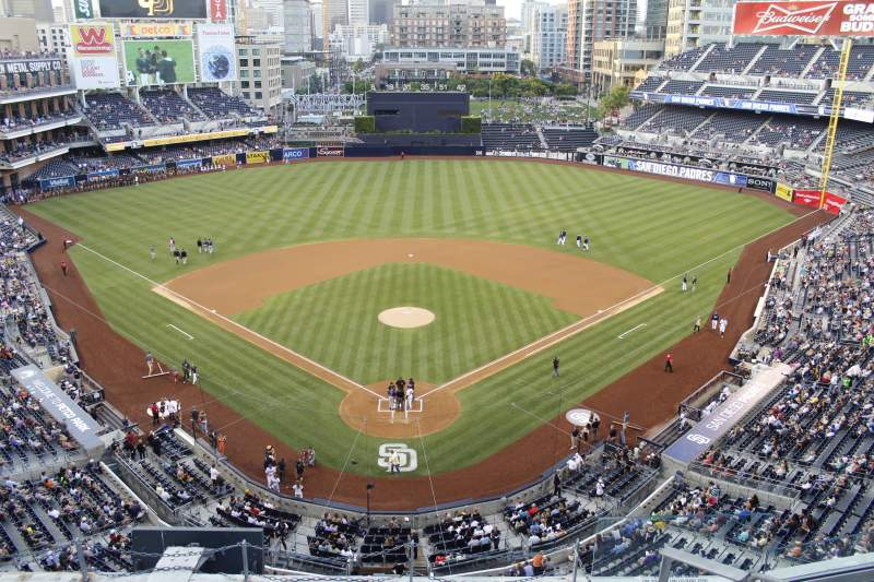 PETCO Park, section: UI300, row: 7, seat: 5