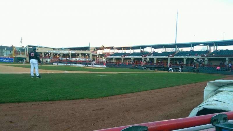 Seating view for UPMC Park Section 114 Row A Seat 3