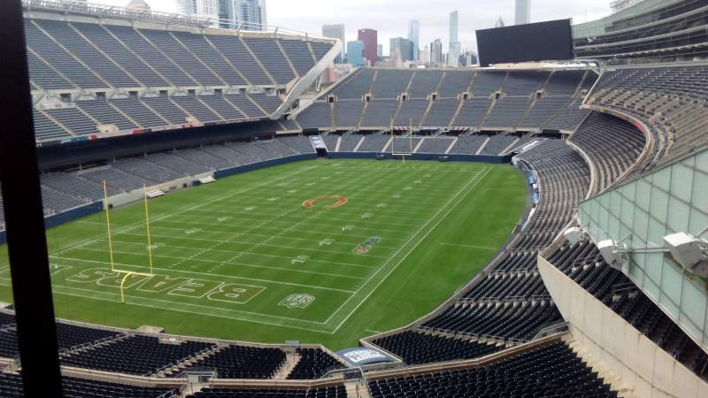 Seating view for Soldier Field Section Suite Row 1
