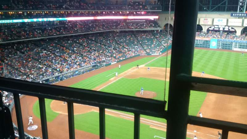 Seating view for Minute Maid Park Section 327 Row 1 Seat 1