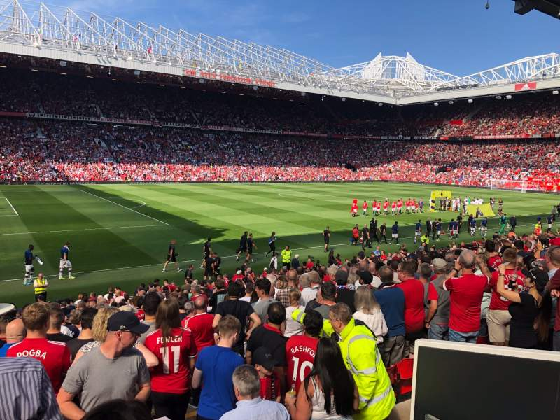 Seating view for Old Trafford Section STH121 Row 17 Seat 237