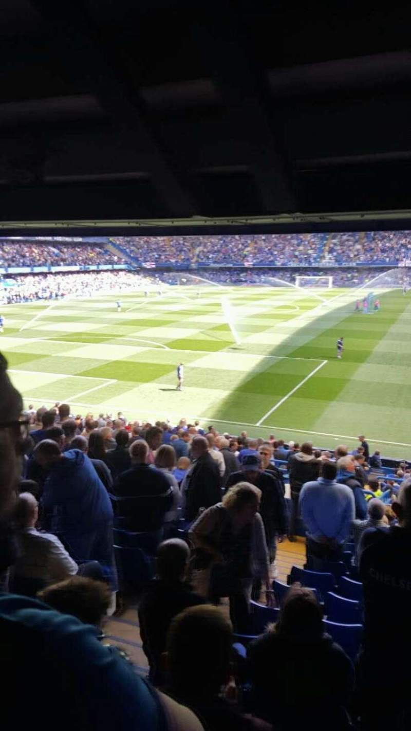 Seating view for Stamford Bridge Section U10 Row EE Seat 0302