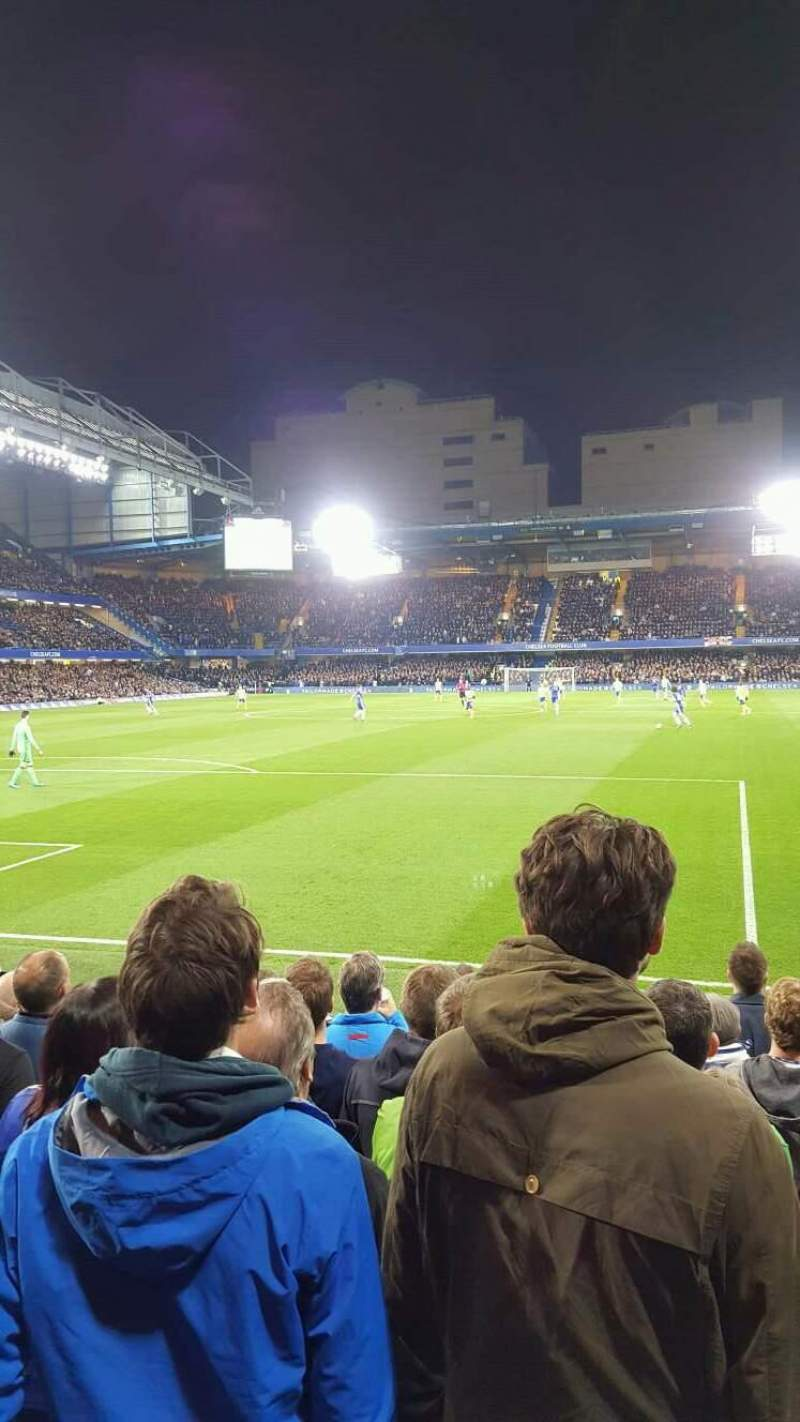 Seating view for Stamford Bridge Section 11 Row K Seat 036