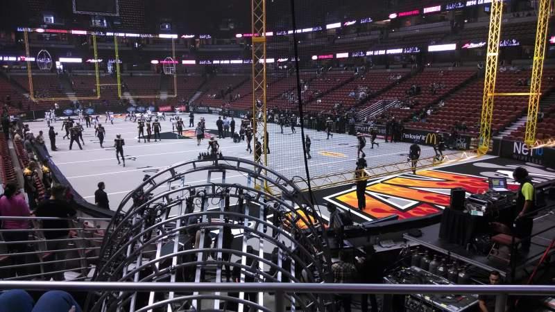 Honda Center, section: 217, row: P, seat: 8