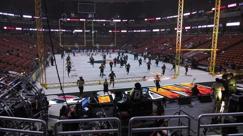 Honda Center, section: 216, row: P, seat: 8